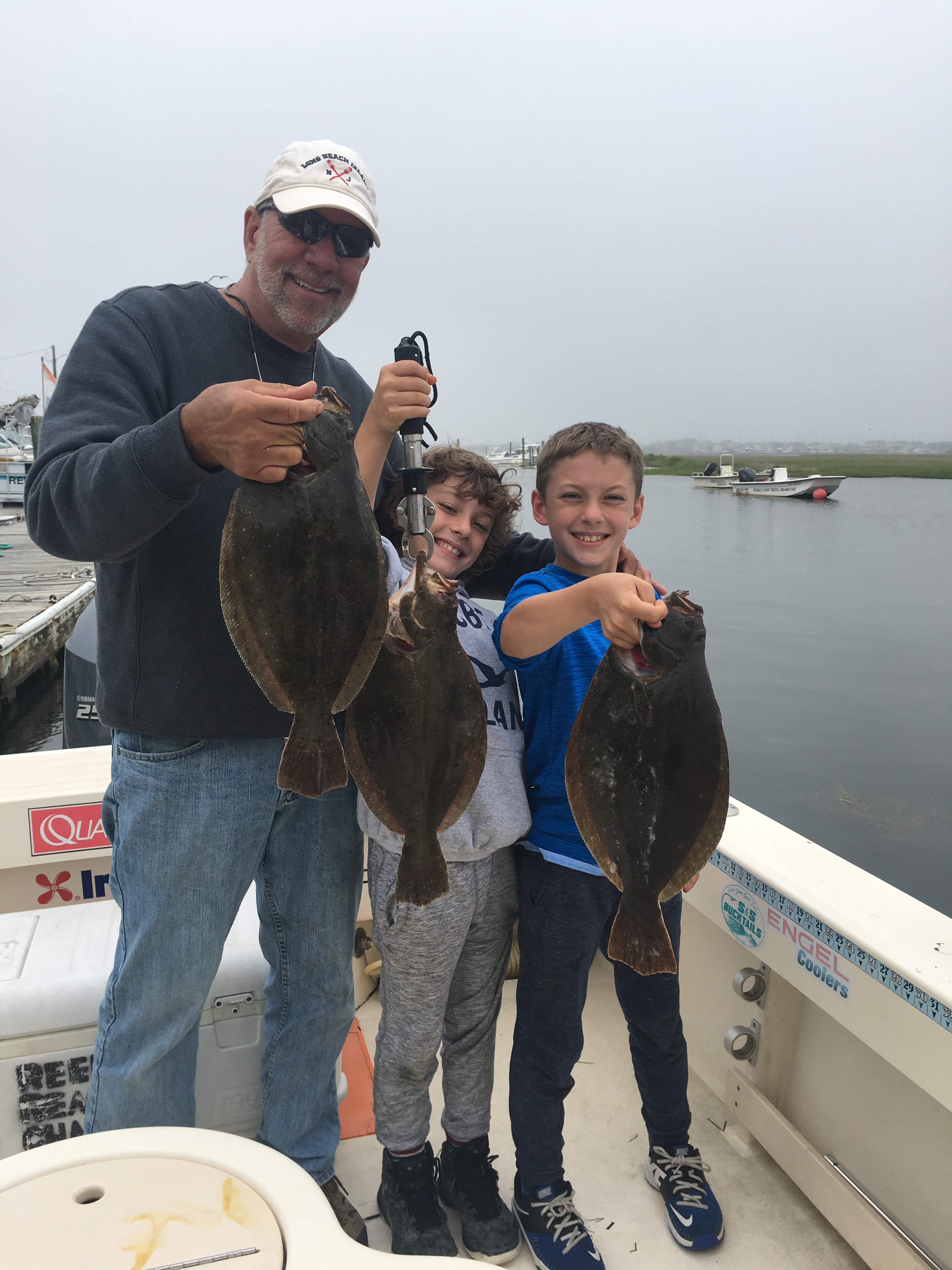 reel reaction charters barnegat bay fishing report lbi